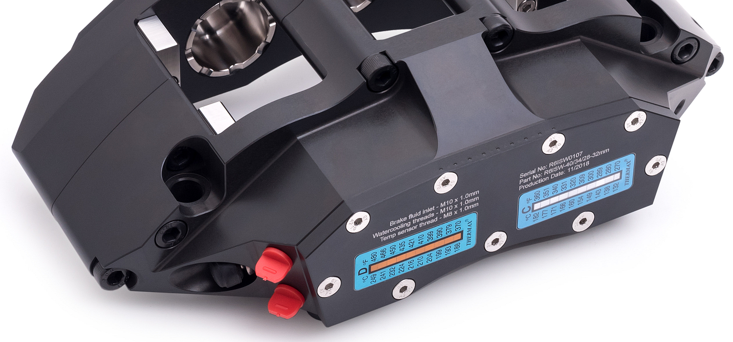 Powerbrake R-Line Race Caliper (liquid-cooled)